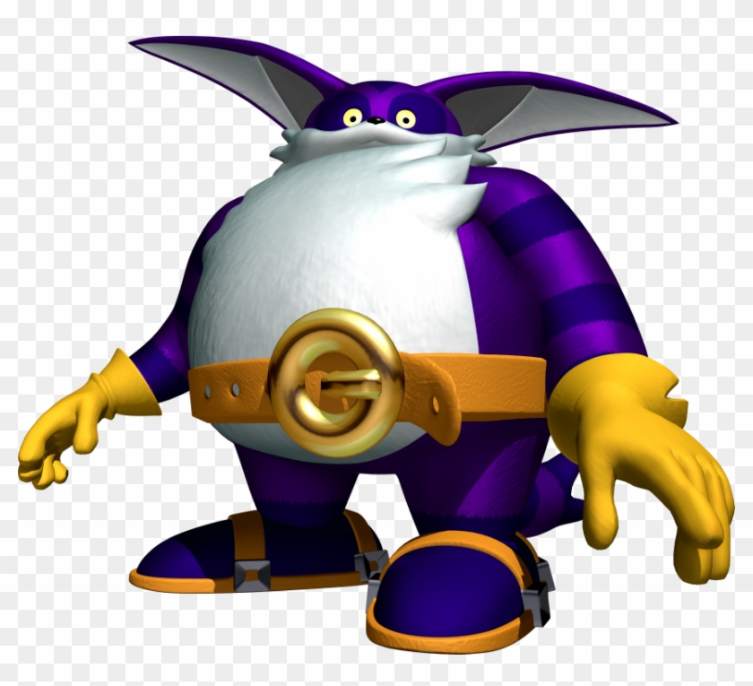 Big The Cat - Big The Cat Sonic #1057431