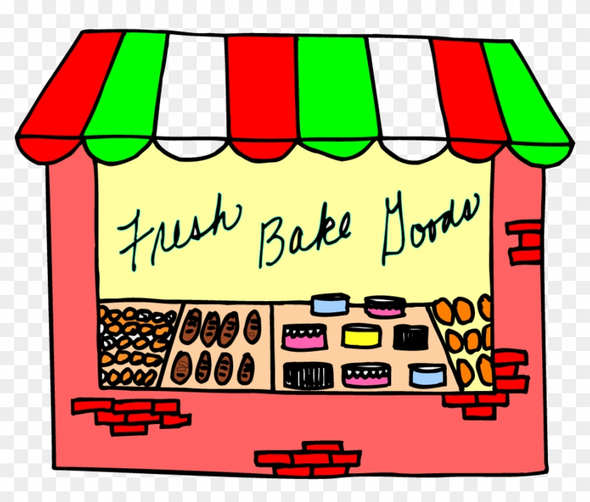 Bakery Store Front - Grocery Store Clip Art Transparent #1057727