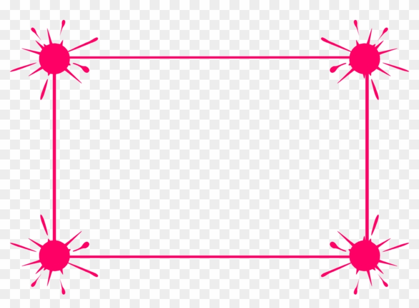 Border Pink - Pink Borders And Frames #1058130