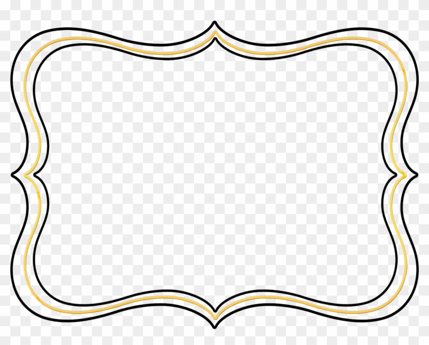Pink Scroll Frame Clip Art Clipart Panda Free Clipart - Clip Art Frame Border #1058132