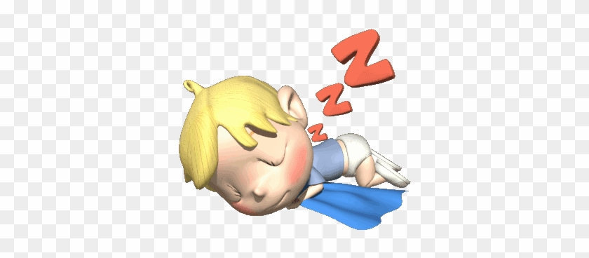 3d Aslep Baby Girl Sleeping Animated Gif Free Transparent Png Clipart Images Download