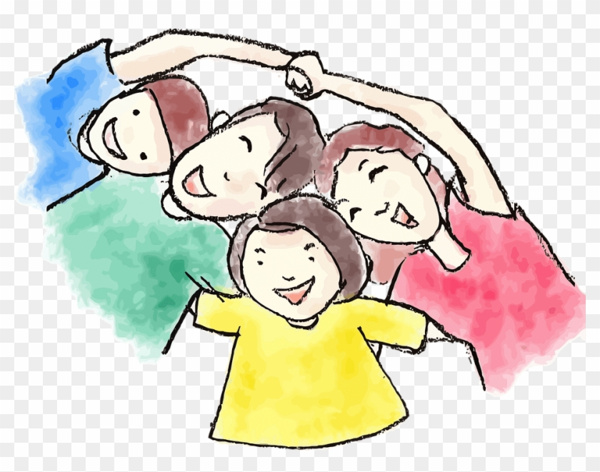 Pin Mom Dad And Baby Clipart - Family Watercolor Png #1058332