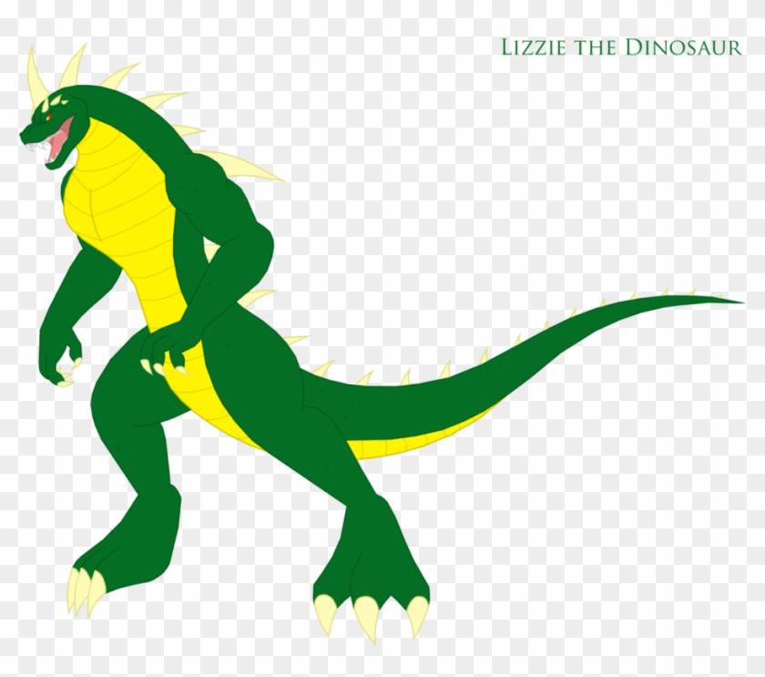 Lizzie The Dinosaur By Pyrus Leonidas Deviantart Rampage George