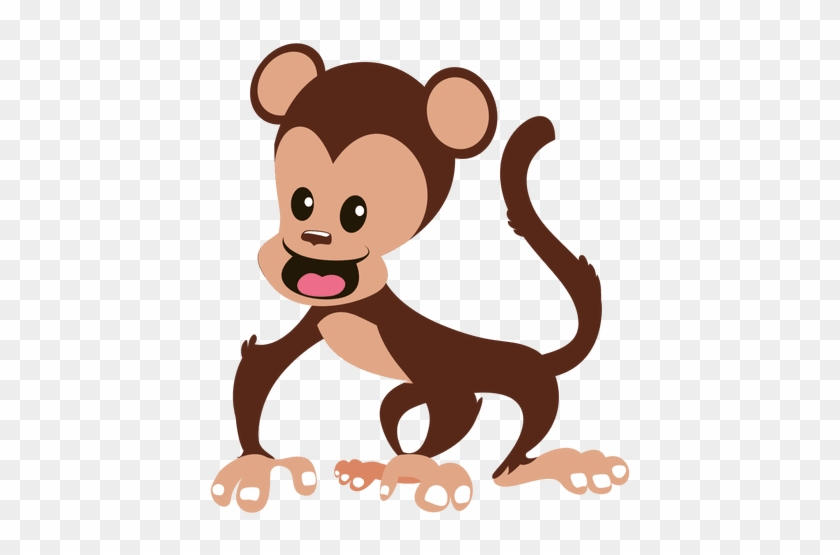 Monkey Silhouette - Mono Dibujo Png #1058445