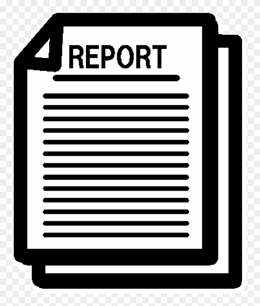Report Icon - Report Icon Transparent - Free Transparent PNG Clipart Images  Download