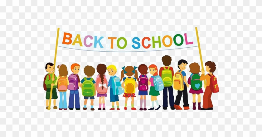 Back To School Kids Png Transparent - Back To School Drive #1059502