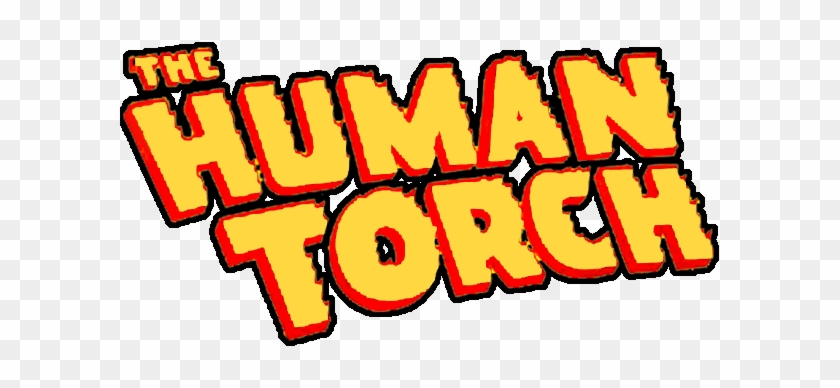 Humantorch Logo Lg - Human Torch Marvel Logo - Free Transparent PNG