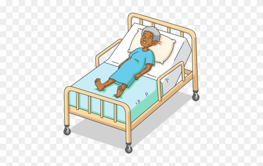 Dangerous   Dyspnea Clipart Hospital Bed