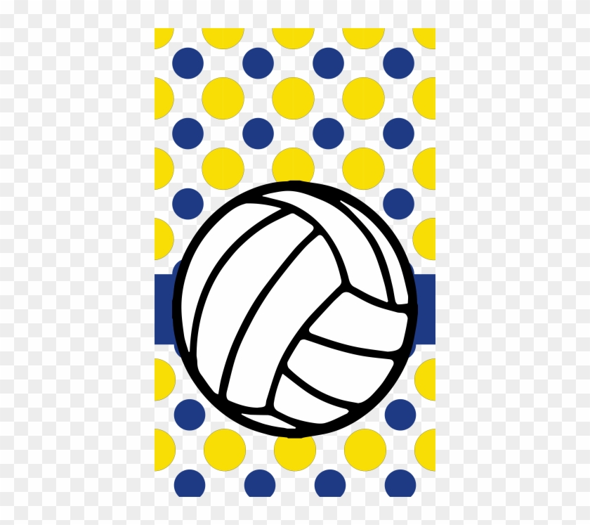 Volleyball Dots - Funny Sand Volleyball Shirts #1060348