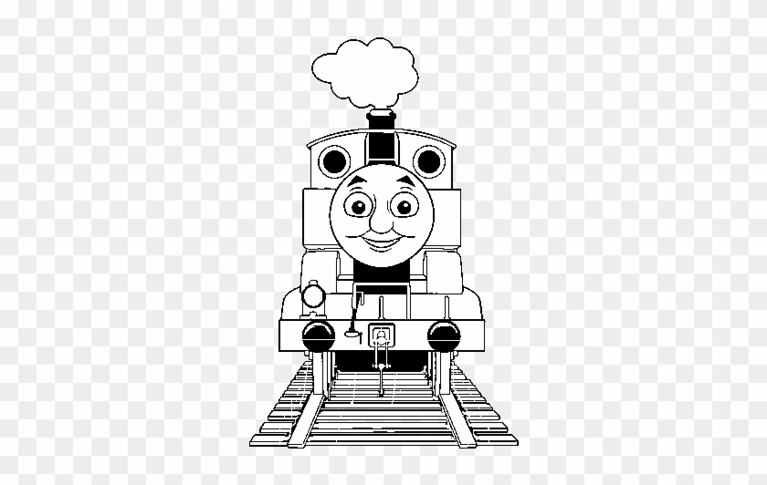 - Thomas From Thomas And Friends Coloring Page - Thomas The Train Coloring  Pages - Free Transparent PNG Clipart Images Download