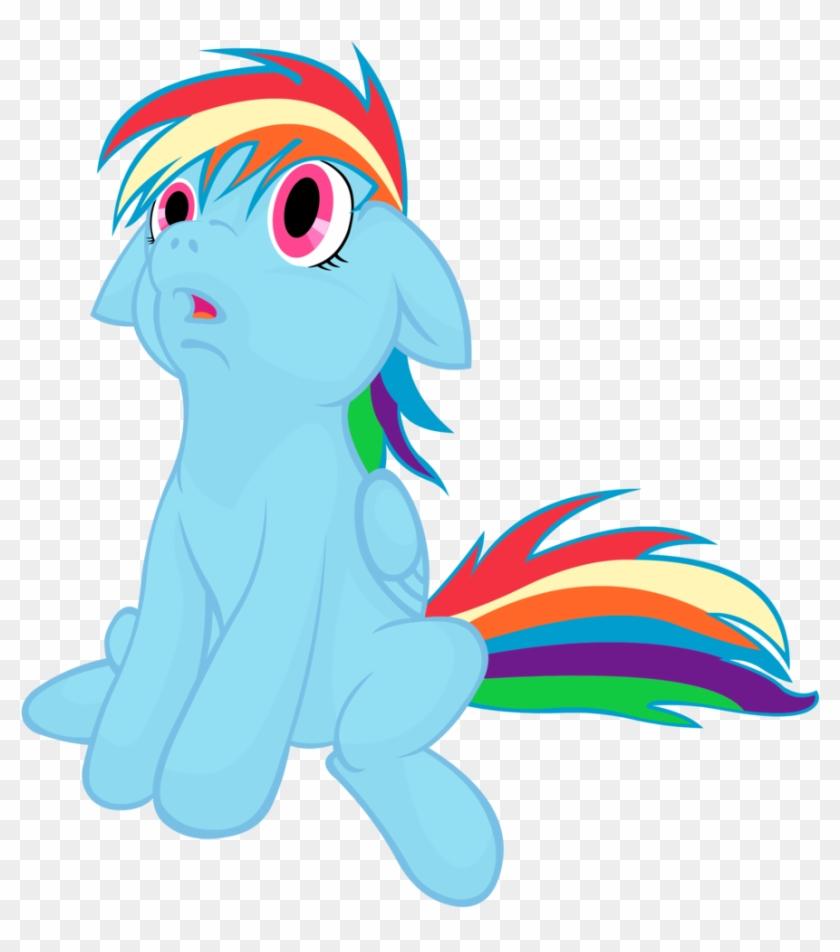 Sweet Sugar Cube, Filly, Rainbow Dash, Safe - Marine Mammal #1060602