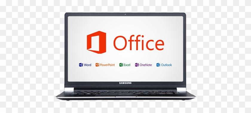 Microsoft Windows Laptop Ms Word On