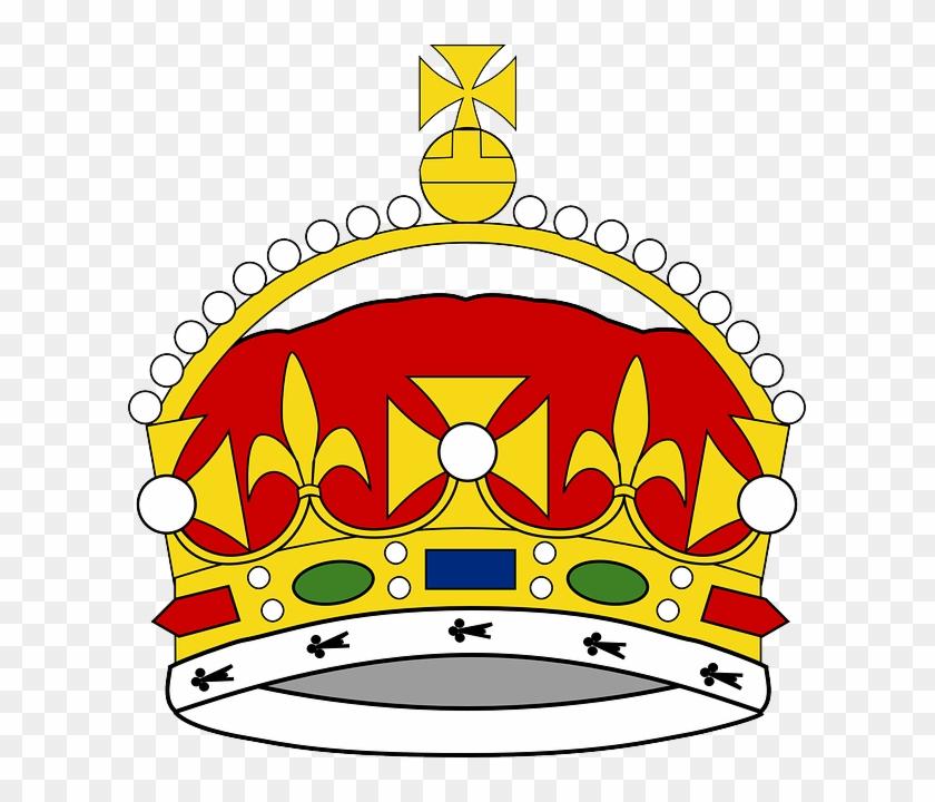 Prince Crown Clip Art Free - King George Iii Crown Drawing #1061663
