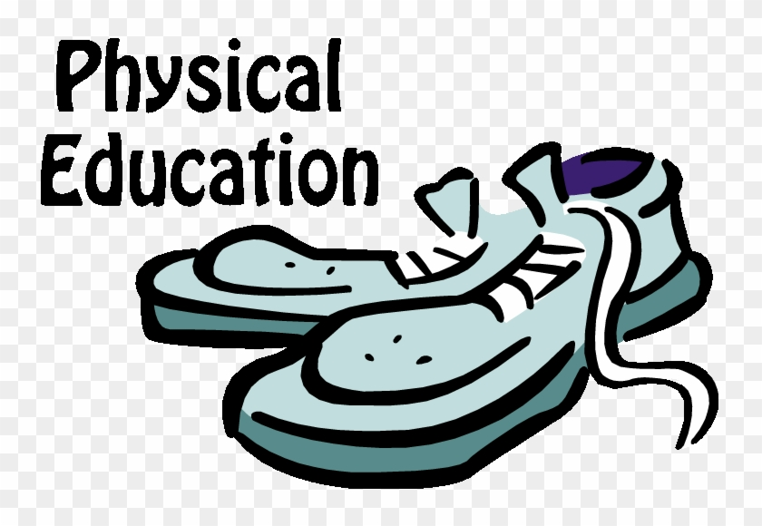 Clip Art Pe And Health Clipart - Physical Education Class Clip Art #1061879
