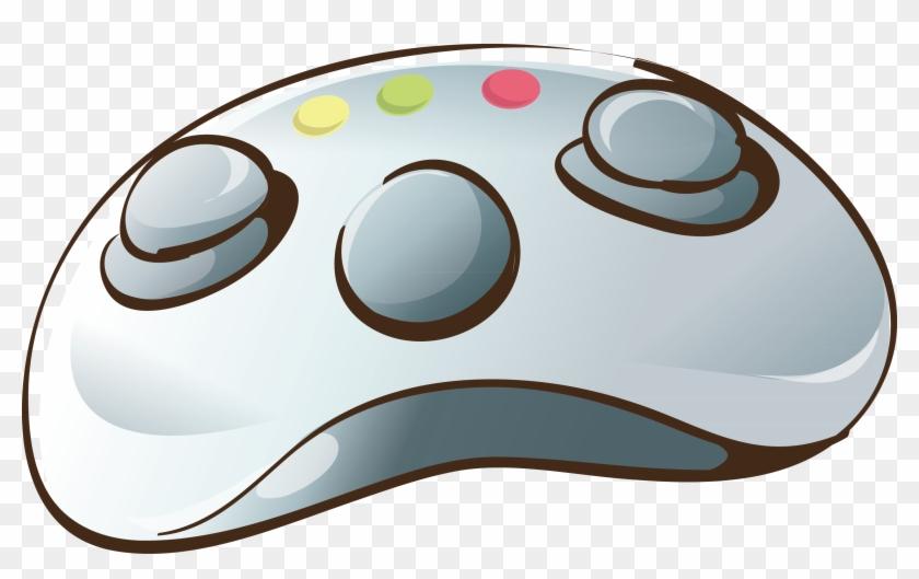 Cartoon Game Controller Mouse Decoration Vector Material
