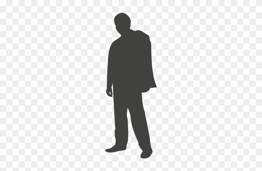 mypuzzledesign business man standing silhouette in - 840×551