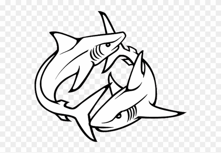 Tribal Shark Tattoos Designs 07 1 Shark Tattoo Drawing Free
