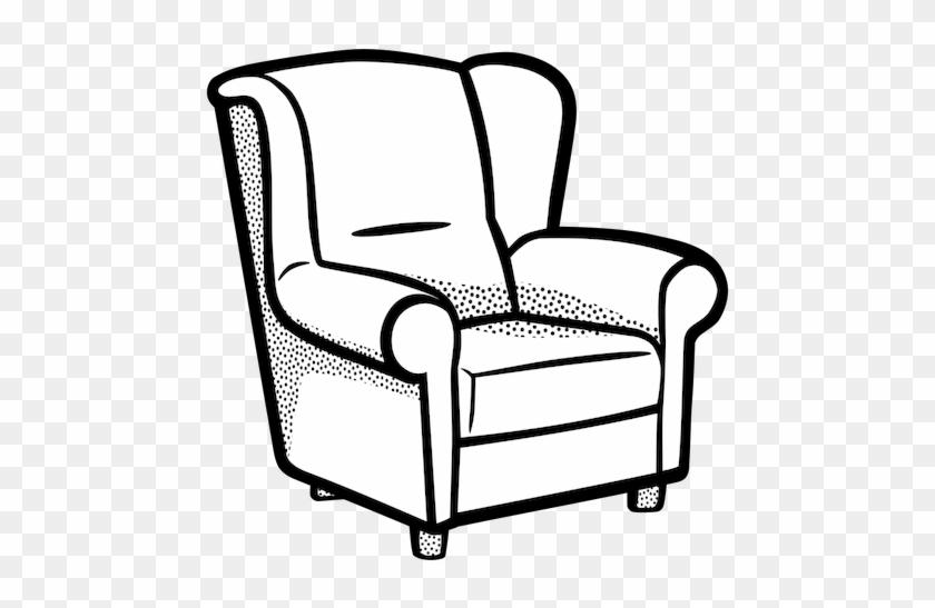 Kursi - Living Room For Coloring #1063336