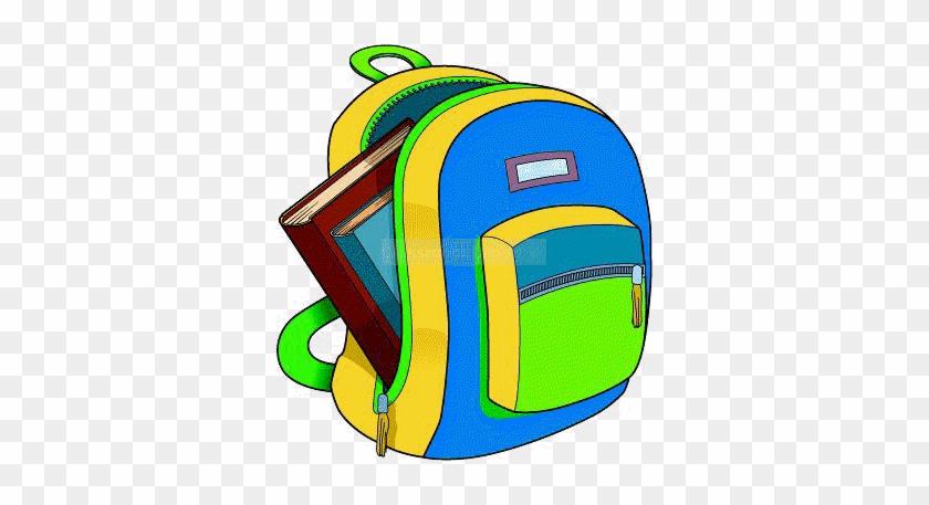 Book Bag Clip Art Clipart Panda - Book Is In The Bag #1063554