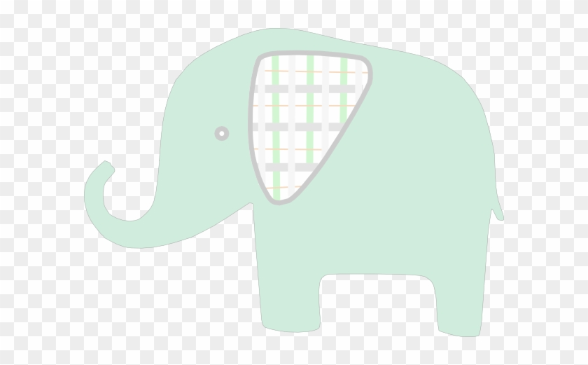 How To Set Use Plaid Green Elephant Svg Vector - Indian Elephant #182382
