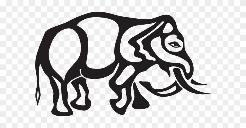 Elephant Tattoo Stencil - Elephants #182435