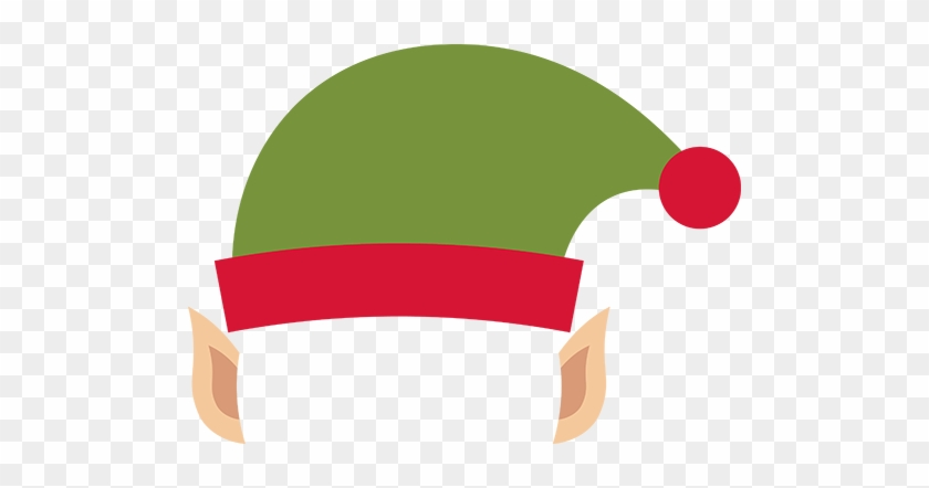 Graphics For Elf Hat Graphics - Elf Hat With Ears Clipart #182470