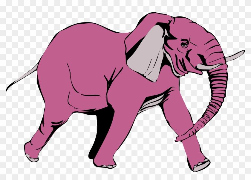 Clipart - Elephant Clip Art #182473