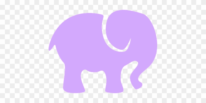 Elephant Baby Decoration Silhouette Design Silueta De Un Elefante