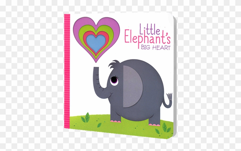 Cut Through Book - Little Elephant Big Heart #182595