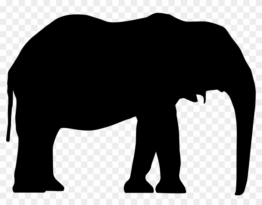 Open - Elephant Svg #182629