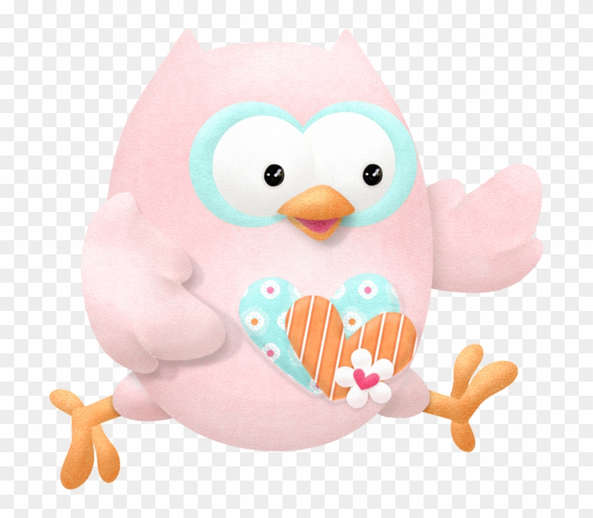 Cute Owls In Love Clip Art Stuffed Toy Free Transparent Png