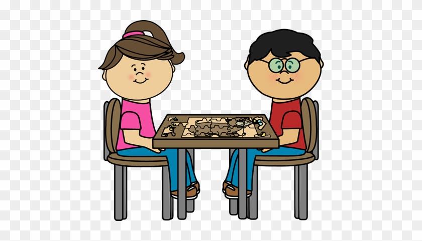 Puzzle Clipart Kids Puzzle - Children Puzzle Clip Art #182709