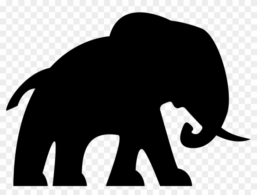 Elephant Facing Right Comments - Elephant Icon Transparent #182736