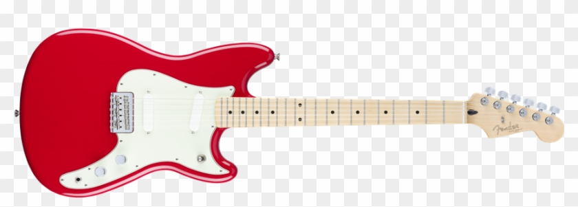 Fender Offset Duo-sonic Electric Guitar Mn, Torino - Fender Duo-sonic Electric Guitar, Mn, Torino Red #182851