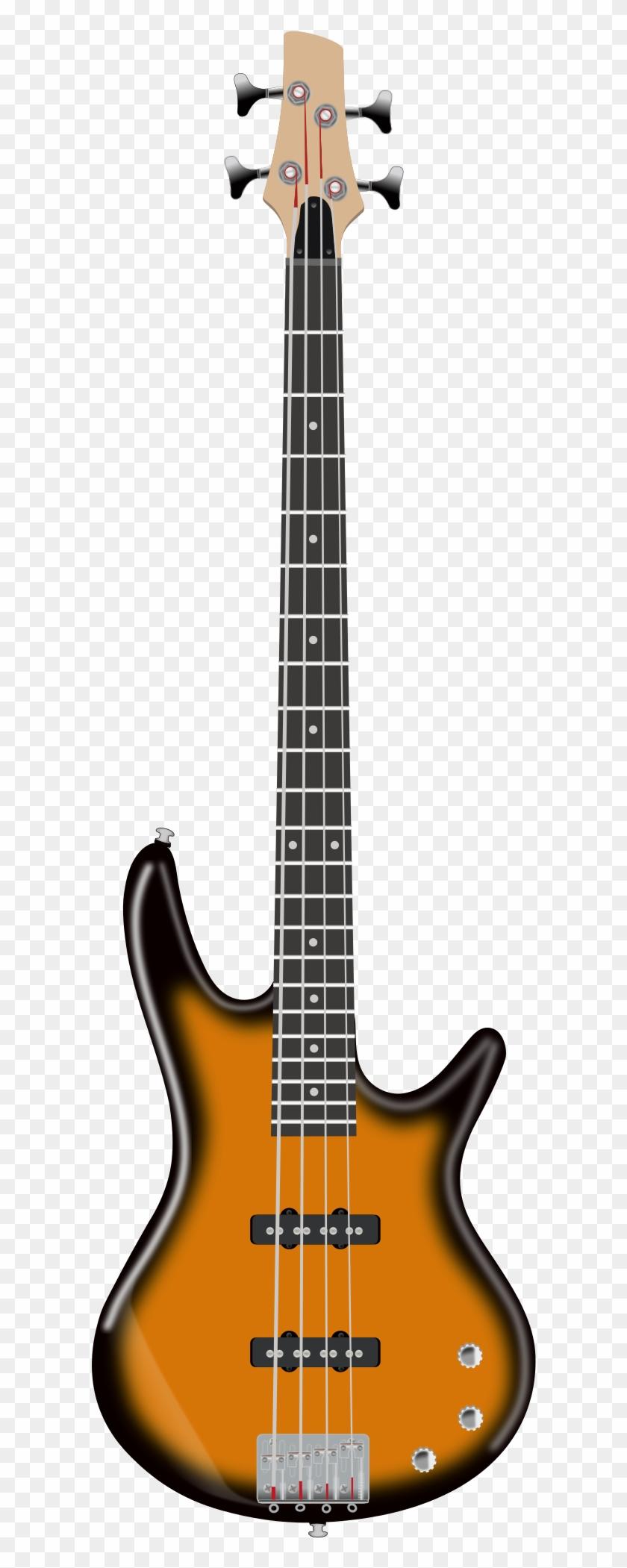 Electric Bass - Bass Guitar Clipart #182958