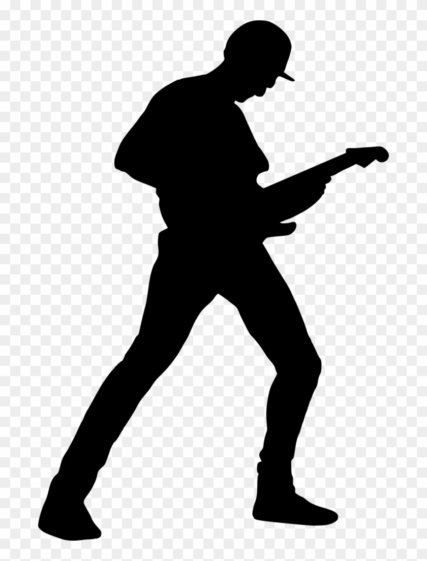 980 × 1454 Px - Guitar Player Silhouette #183256