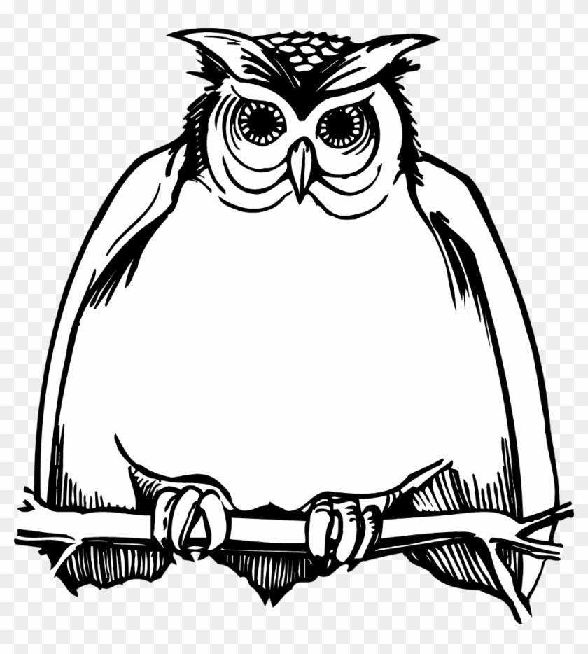 Horned Owl Clipart Black And White Harry Potter Happy Birthday