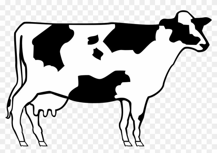 Beef Clipart Farm Animal - Simple Cow #183591