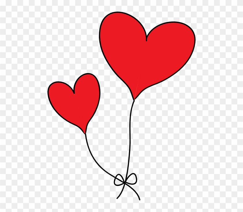 Free Clipart Of A Red Heart Images Clip Art Clipartbarn - Heart Balloon Clip Art #183613