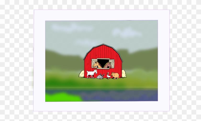 Barn Yard Painting Clip Art - Farm Animals #183707