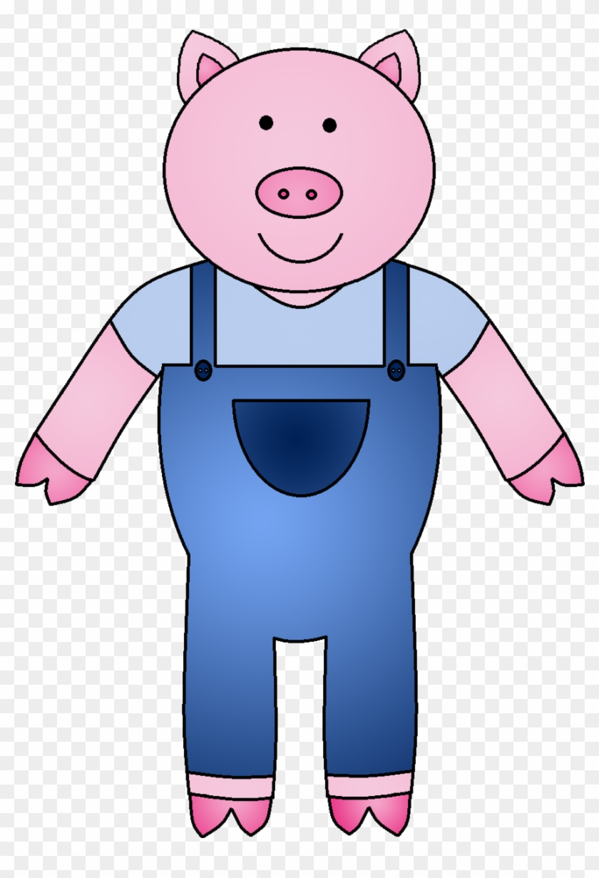 Three Little Pigs Clipart #183968