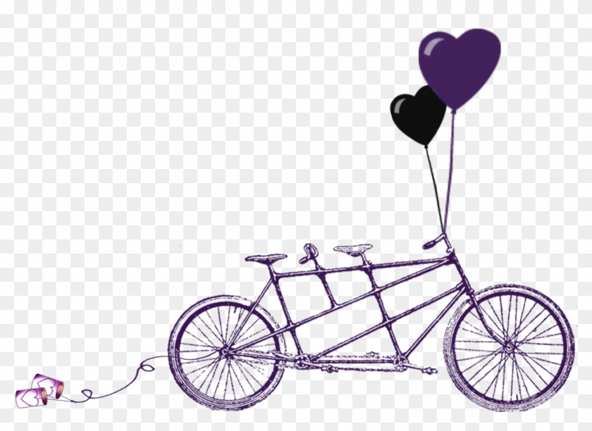 Rustic Wedding Clipart Download Free Clipart Tandem Bicycle Clip Art Free Transparent Png Clipart Images Download