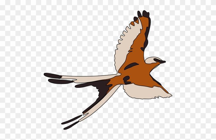 Colored Clip Art Of Flying Bird - Maya Bird Clipart #184121