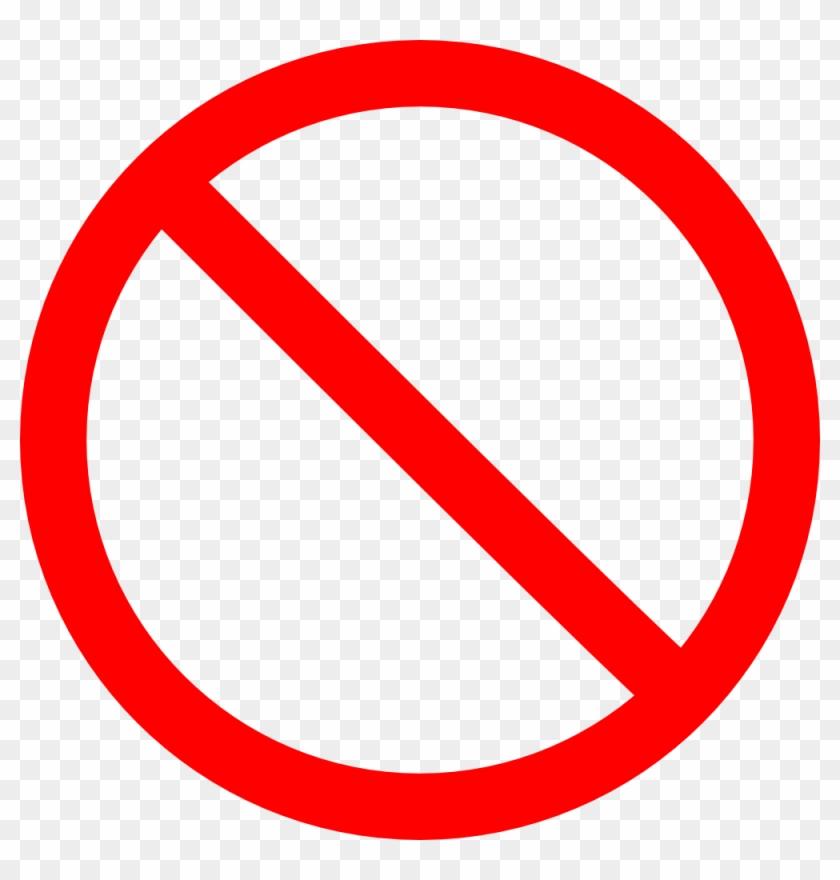 Cancel Clip Art - Stop Sign Png #184312