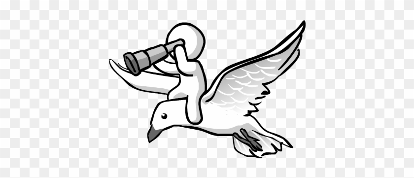 Get A Bird - Birds Eye View Clipart #184331