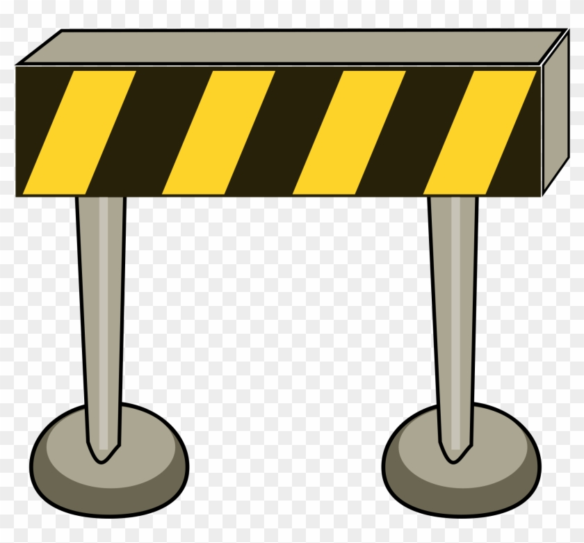 Similar Clip Art - Road Barriers Clipart #184540