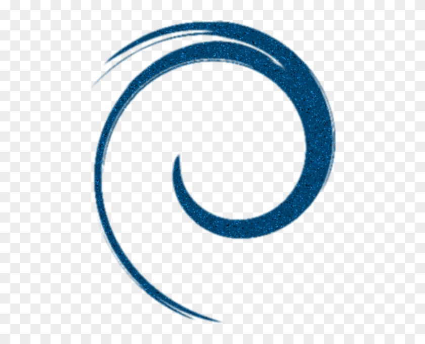Swirl Blue Single Free Images At Clker Com Vector Clip - Blue Circle Swirl Png #184591