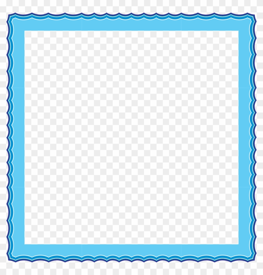 Water Waves Frame 2 Clipart Images Cadre Diplome Vierge Gratuit Free Transparent Png Clipart Images Download