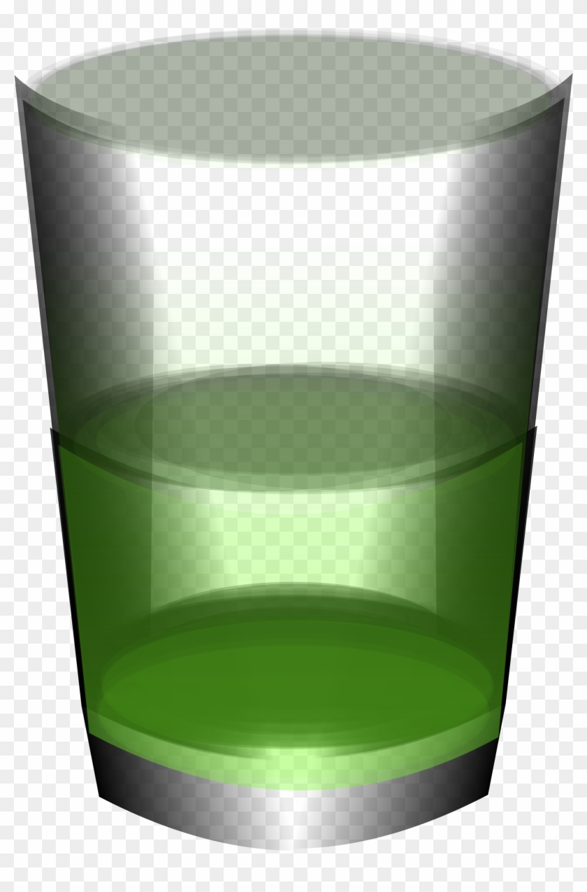 Big Image - Green Water In A Glass #184841
