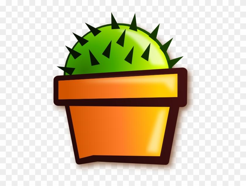 Free Vector Cactus Clip Art - Cactus Clip Art #184876